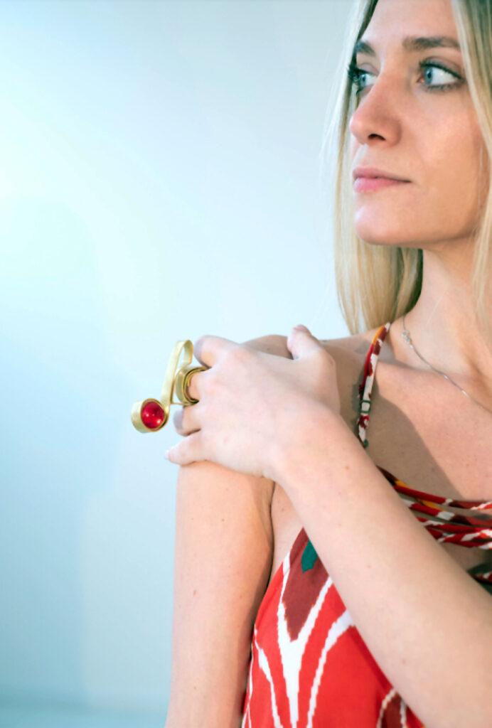 Quezzo Jewels - Sculpture Jewels - Anello