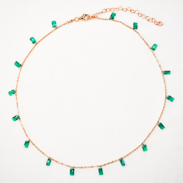 Loroetu - WIND OF MINT Collection - Mint Necklace