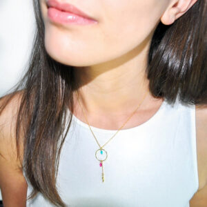 Good Luck Necklace Turquoise N.10