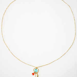 Good Luck Necklace Blue N.5