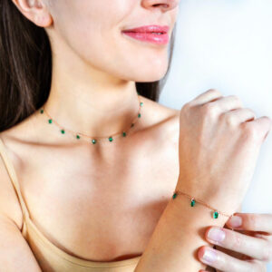 Loroetu - WIND OF MINT Collection - Mint Bracelet